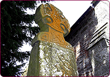 The Famous Celtic Cross at Nevern Church