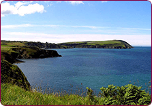 The nearby Pembrokeshire Coastal Path