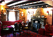 A Cosy Corner of the Lounge at the Trewern Arms